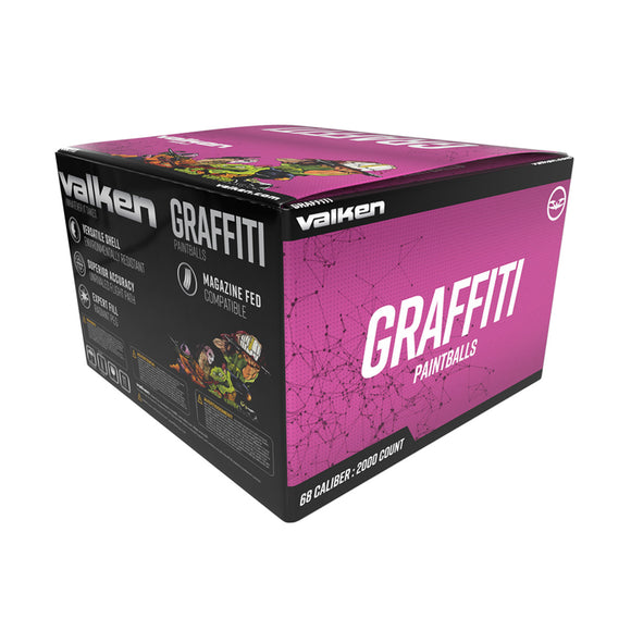 Valken Graffitti Paintballs 2000 Rounds