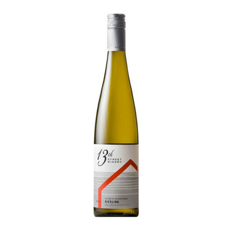 2019 June's Riesling, 13th Street Winery, Creek Shores, Niagara, Ontario