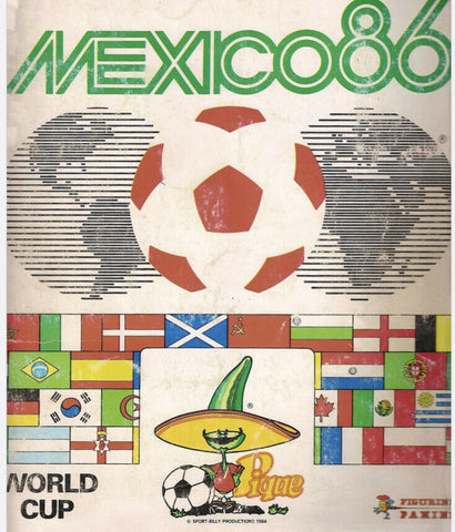 Mexico 1986 Panini FIFA World Cup album -in PDF- Soccer