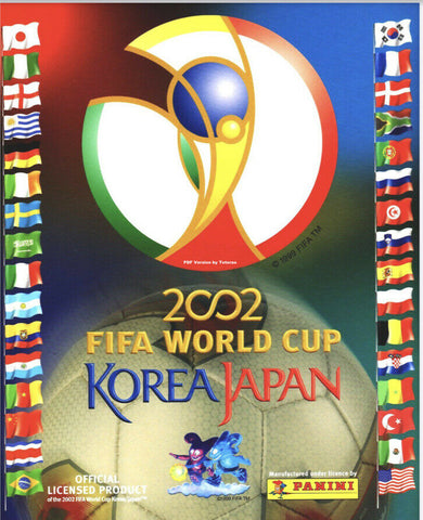 Korea & Japan 2002 Panini FIFA World Cup album