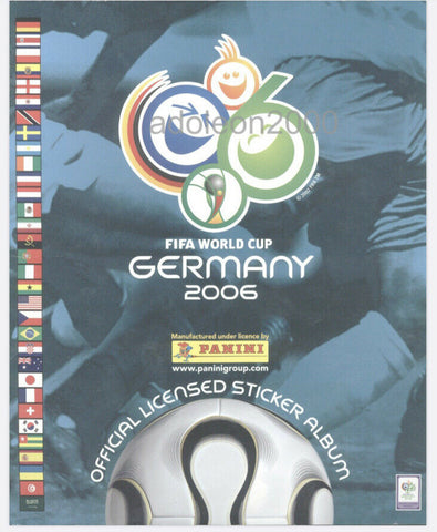 Germany 2006 Panini FIFA World Cup album