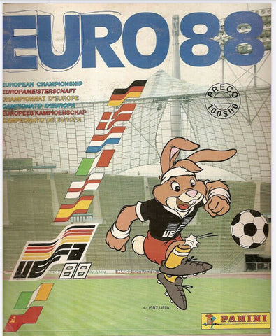 Germany 1988 Panini UEFA Euro Cup album