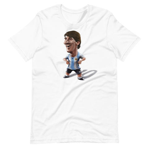 Leo Messi Cartoon Unisex T-Shirt
