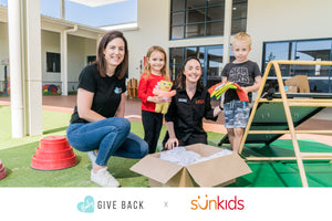 Sunkids sponsorship announcement
