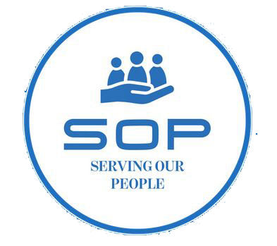 Serving Our People Logo