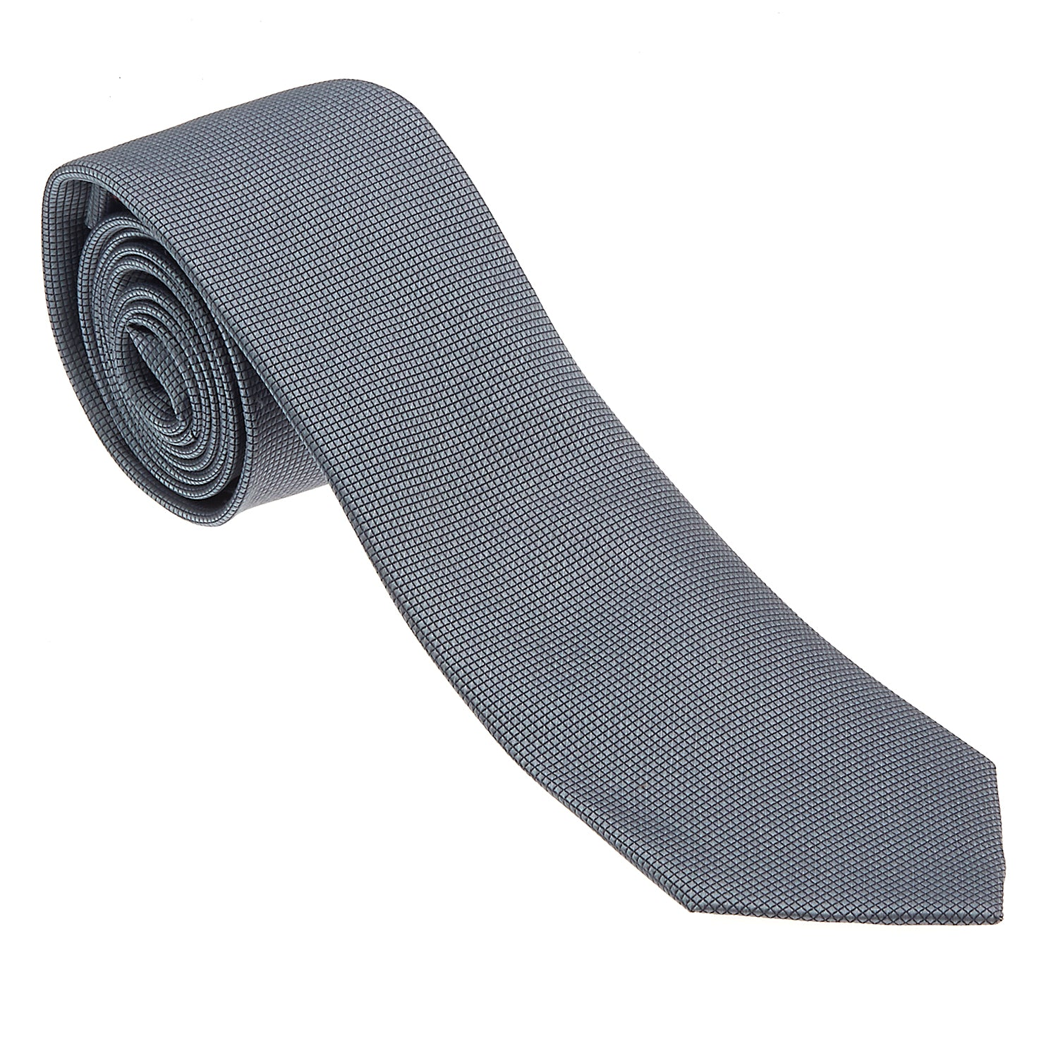 Medium Grey Tie-The Suit Spot-Wedding Suits-Wedding Tuxedos-Groomsmen Suits-Groomsmen Tuxedos-Slim Fit Suits-Slim Fit Tuxedos-Online wedding suits