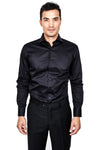100% Premium Cotton Black Shirt