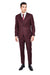 Maroon 3 Piece Suit
