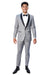 Stretch Tuxedo-Light Grey