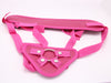 pink lady strap on harness crocodildo 01