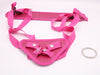 pink lady strap on harness crocodildo 02