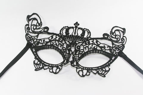 F003E - Sexy Lace Mask - High Quality Lace Designed Mask