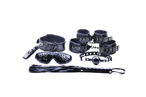 F006A4 - The Black Bondage Kit - Advanced Bondage Kit