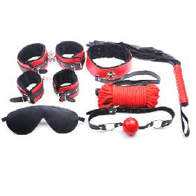 F006A3 - The Red Bondage Kit - Advanced Bondage Kit
