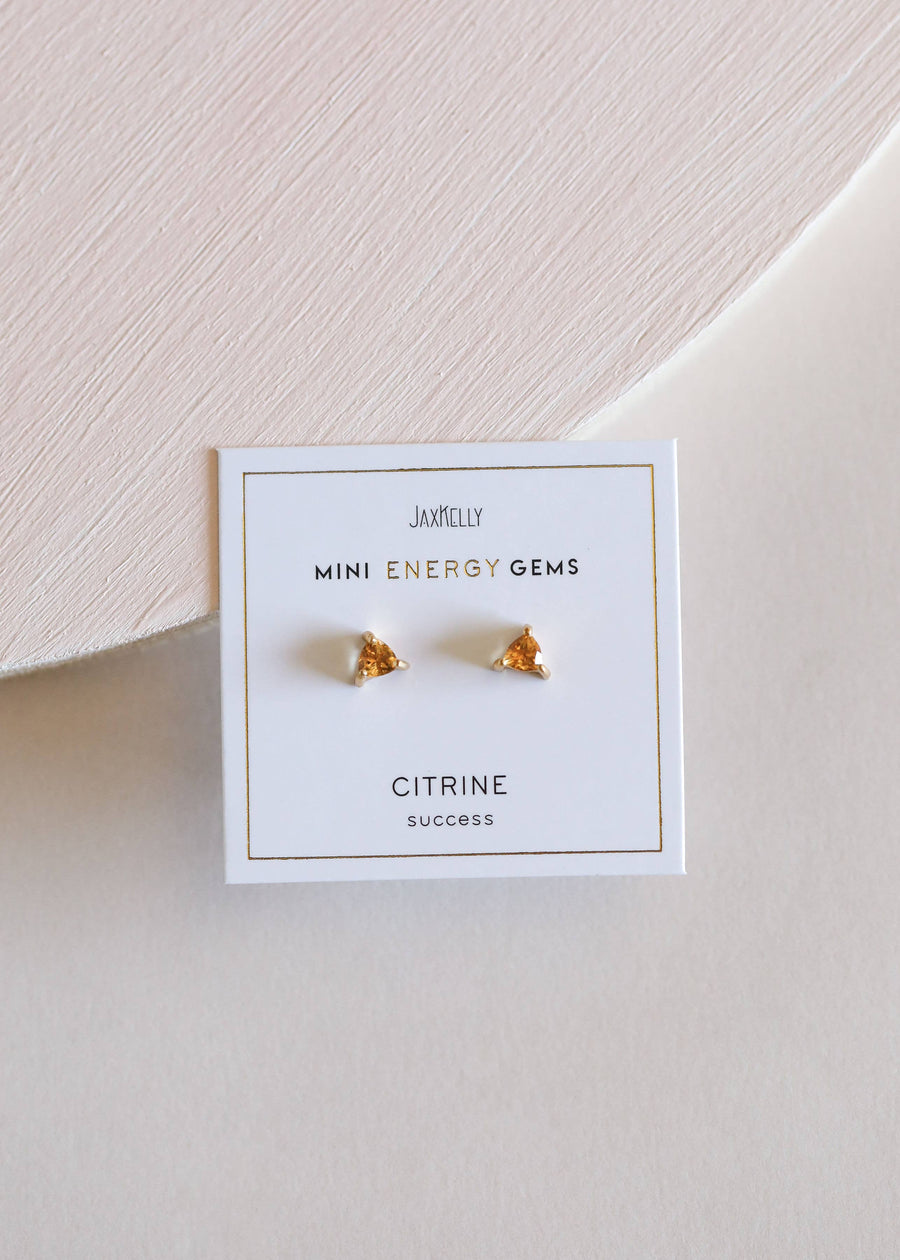 JaxKelly - Citrine Mini Energy Gems