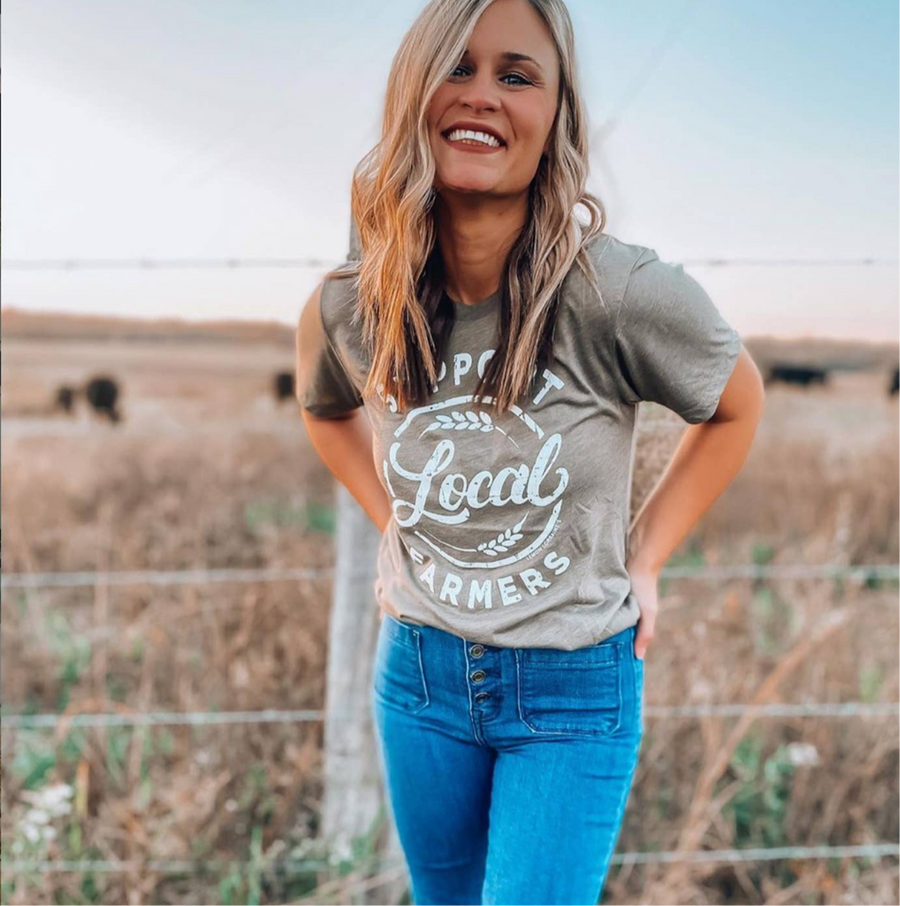 Support Local Farmers T-Shirt