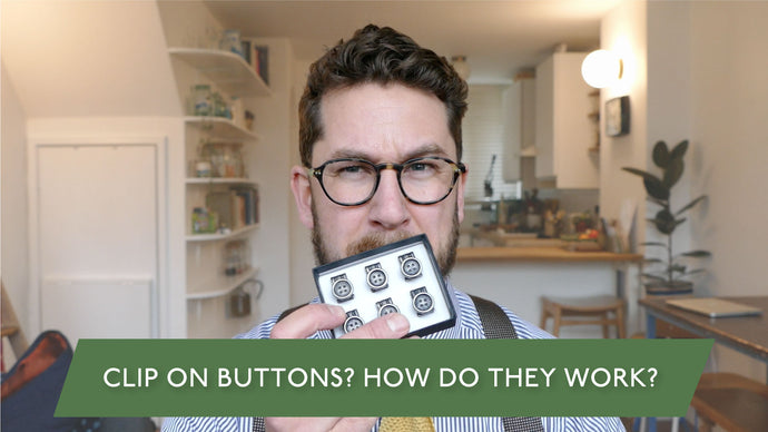 Clip-On Braces Buttons - The Useful Accessory For Your Trouser Braces