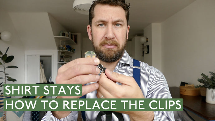 Shirt Stays - How To Replace The Clips