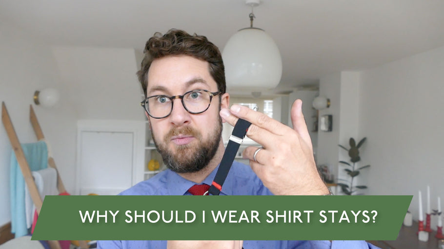 Ask Johan - Why Should I Wear Shirt Stays?