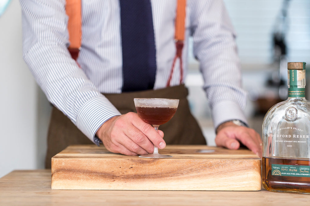 Cocktail Selection - How to Make a Manhattan Cocktail