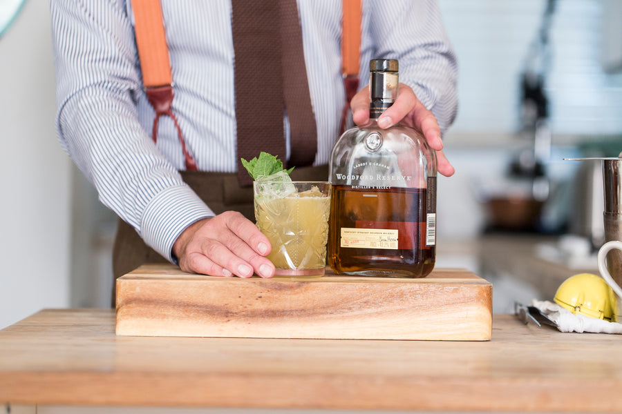 Cocktail Selection - How to Make a Whiskey Smash Cocktail