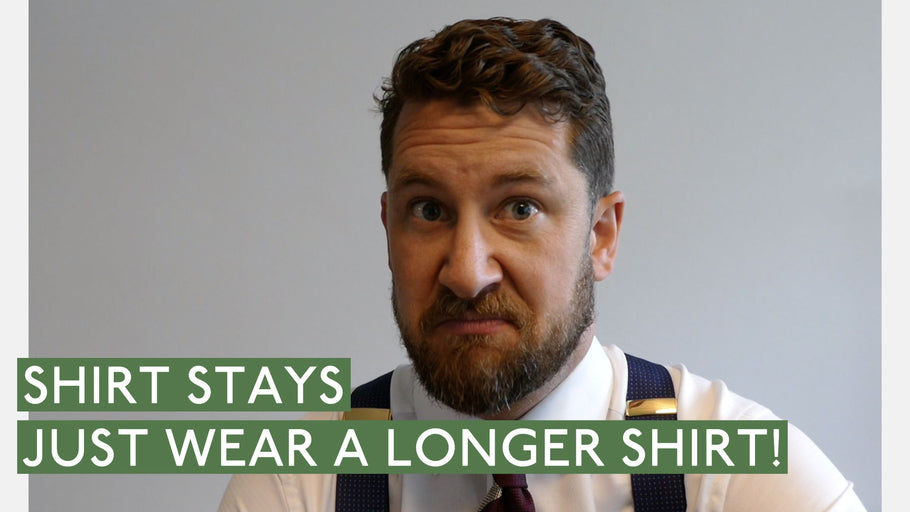 Shirt Stays - Why Not Buy Longer Shirts?