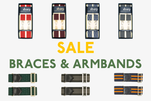Springtime Streamlining - Braces and Armbands - On Sale Now
