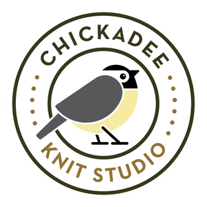 Chickadee Knit Studio Logo
