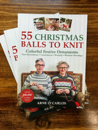 Arne & Carlos 55 Christmas Balls to Knit