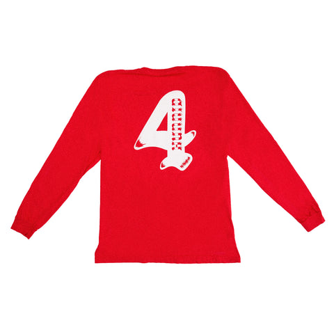 4HUNNID WORLD WIDE LS (RED)