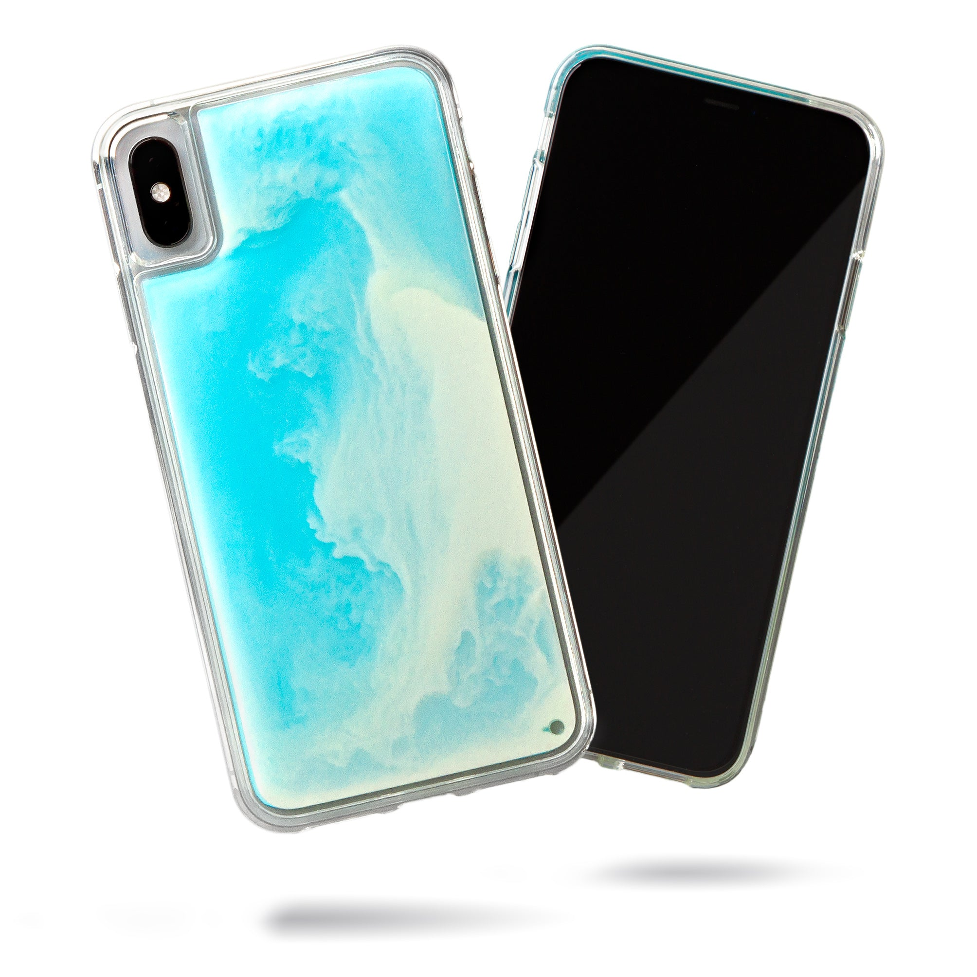Neon Sand iPhone Xs Max Case - Ocean and Beach