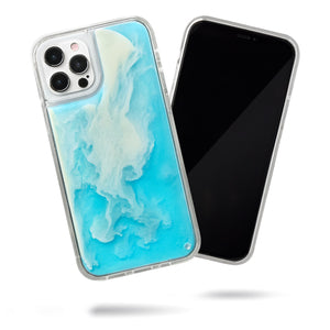 Neon Sand iPhone 12 Pro Max Case - Ocean and Beach