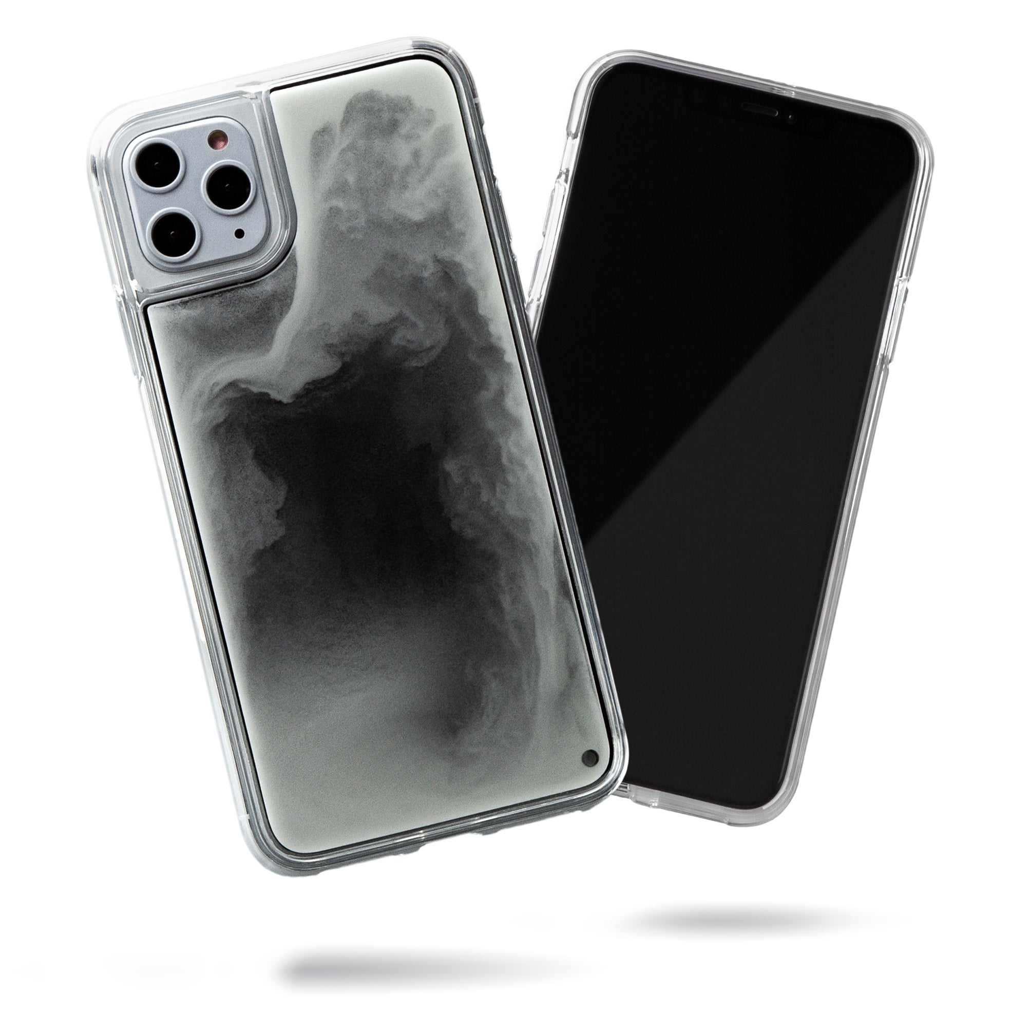 Neon Sand iPhone 11 Pro Max Case - Hi Contrast Black n White