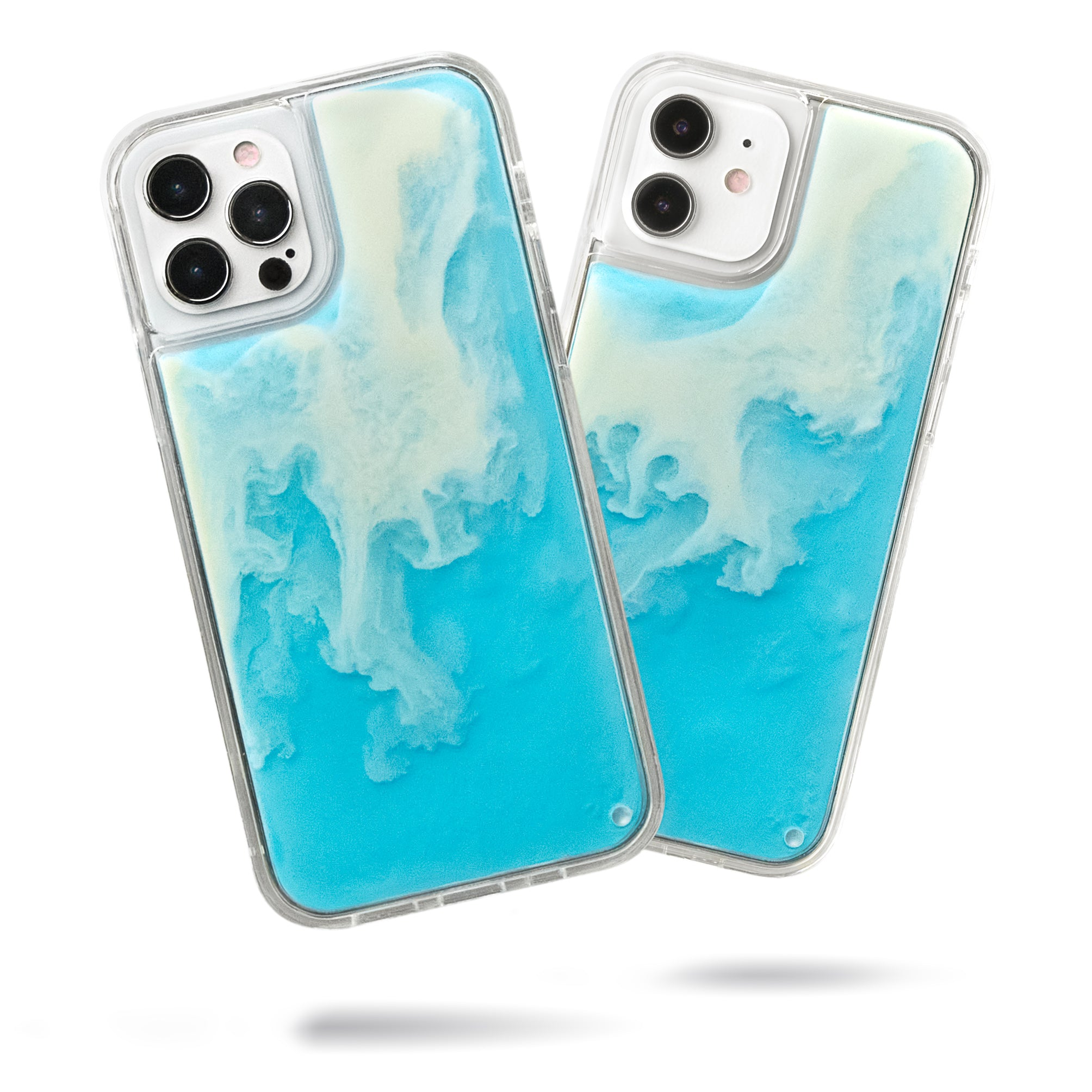 Neon Sand iPhone 12 & 12 Pro Case - Ocean and Beach