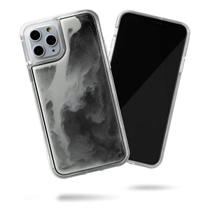 Neon Sand iPhone 11 Pro Case - Hi Contrast Black n White