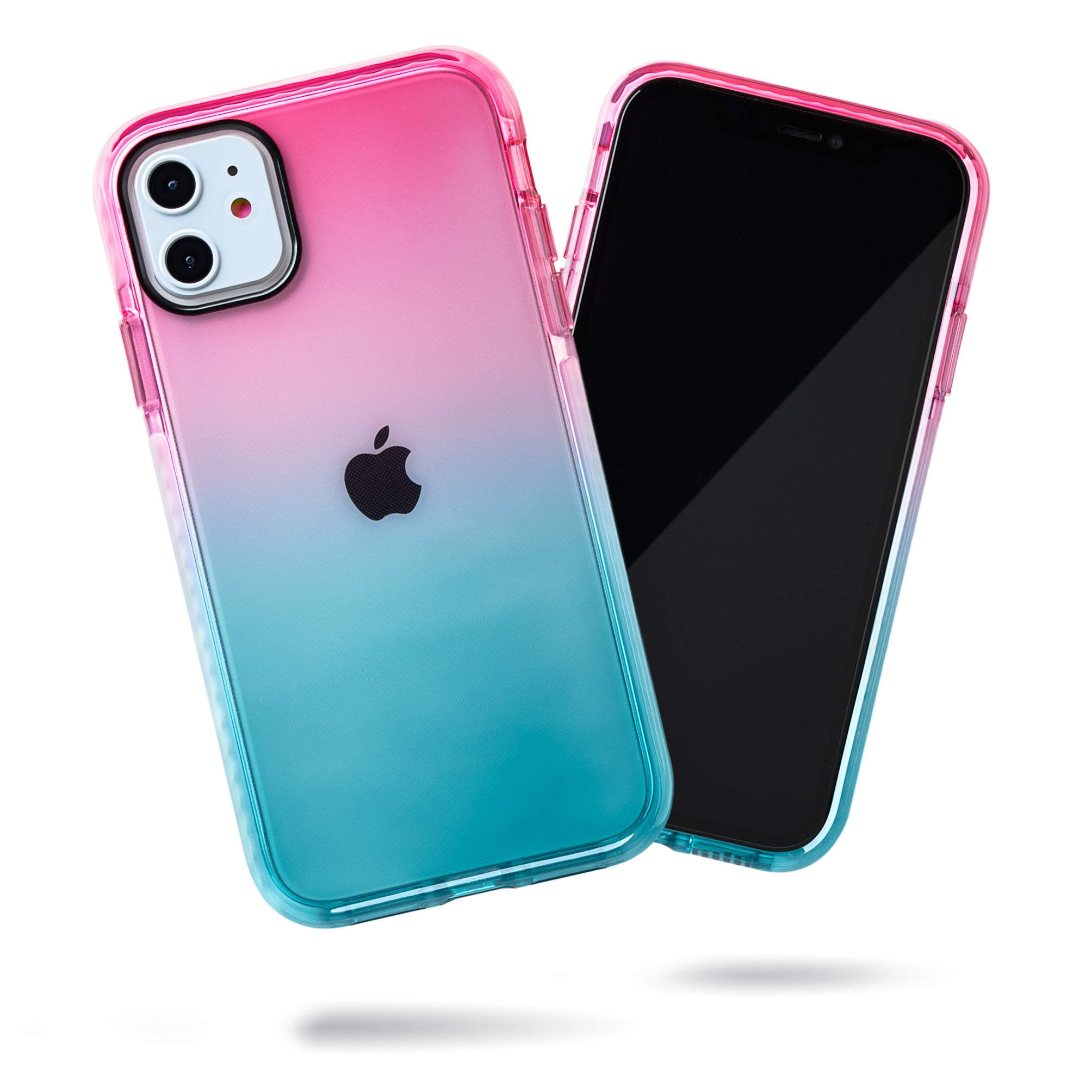 Barrier Case for iPhone 11 - Blue n Pink Gradient Sunset
