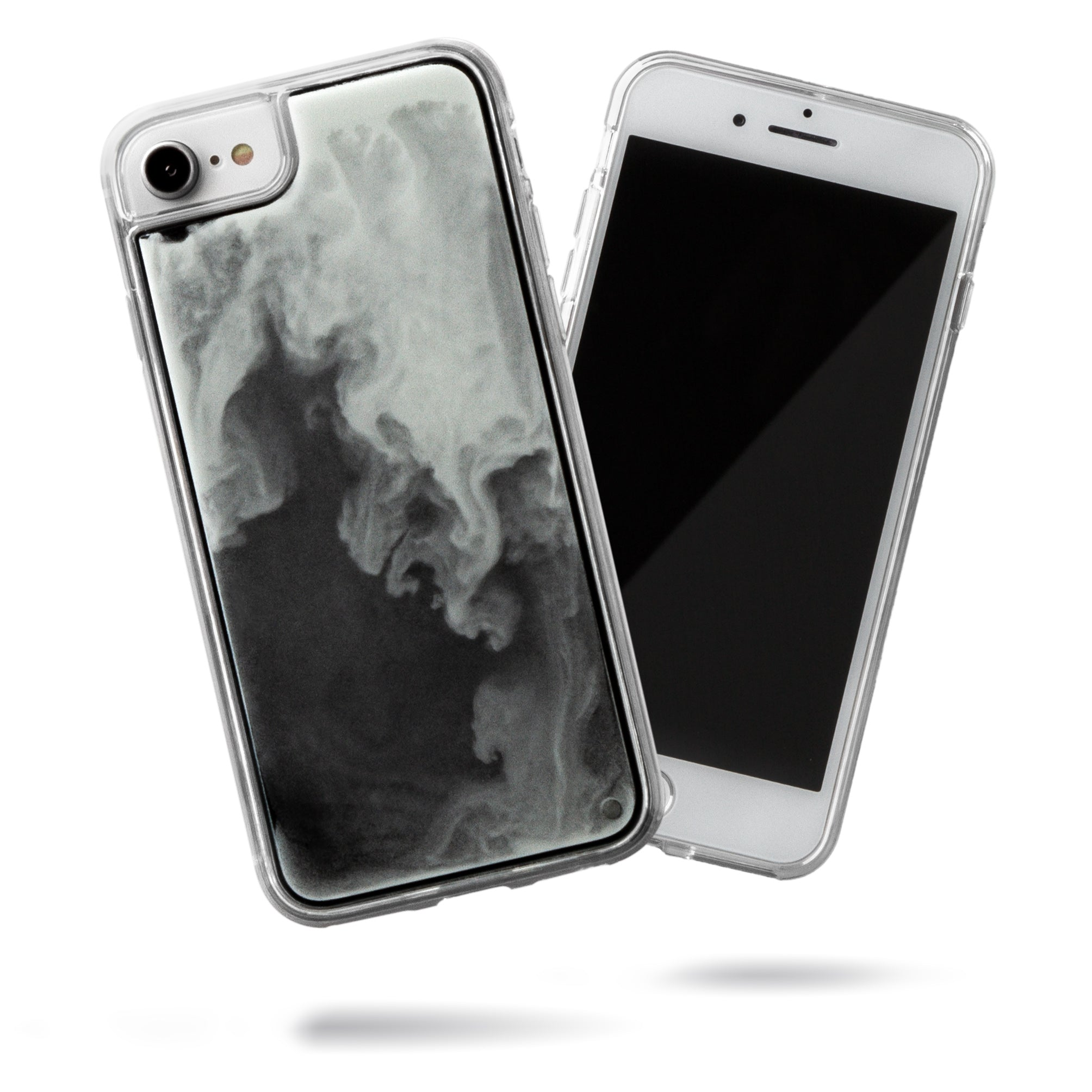 Neon Sand iPhone SE/8/7 Case - Hi Contrast Black n White