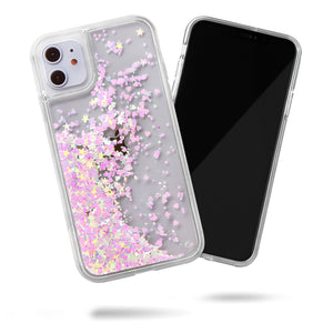 Glitter Liquid Case for iPhone 11 - Pink Chameleon Confetti