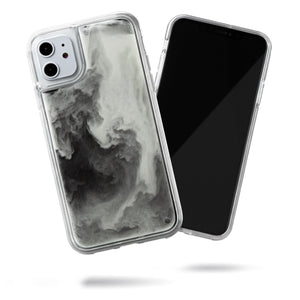 Neon Sand iPhone 11 Case - Hi Contrast Black n White