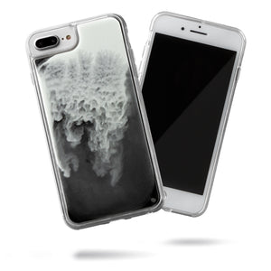 Neon Sand iPhone 8+/7+ Case - Hi Contrast Black n White