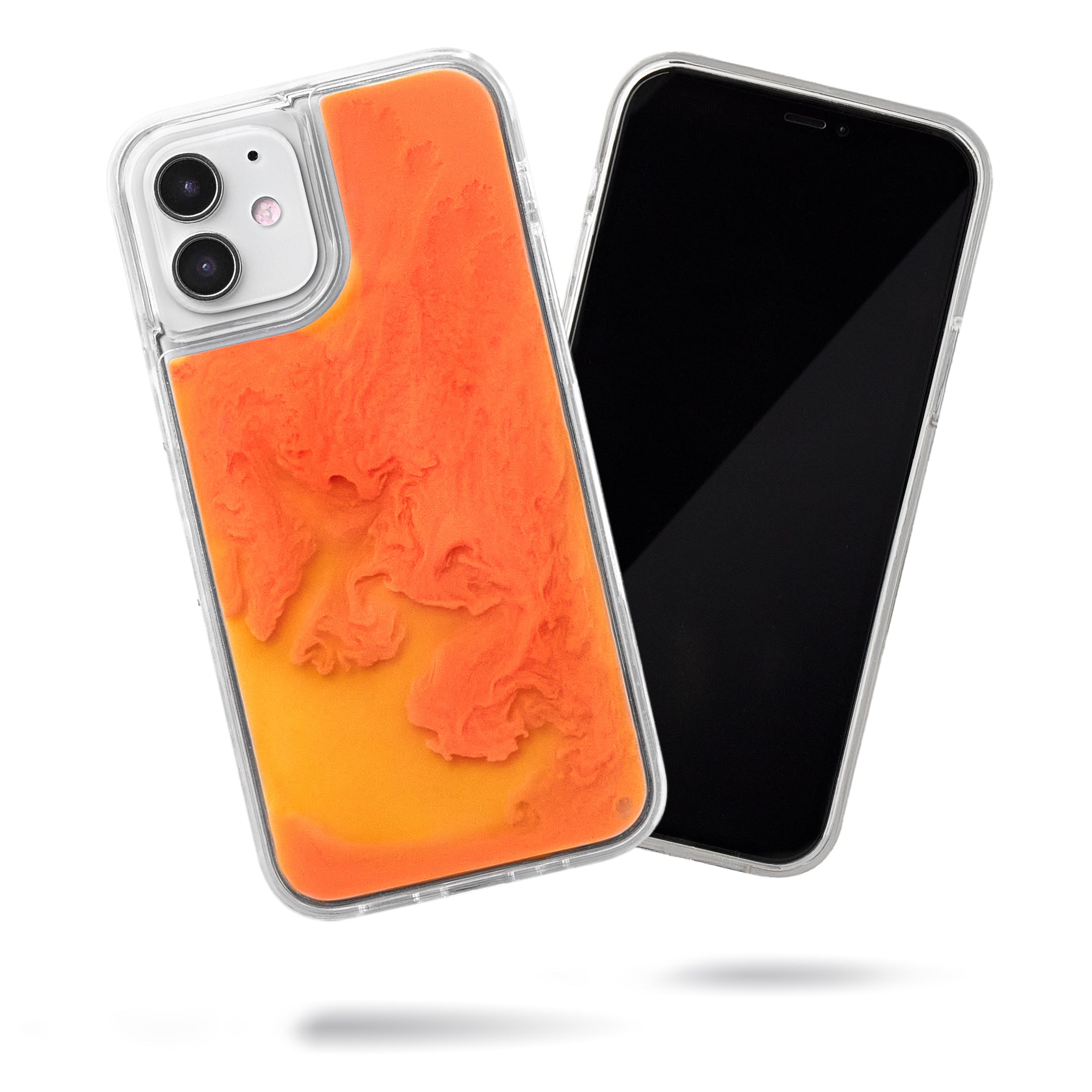 Neon Sand iPhone 12 Mini Case - Orange Soda