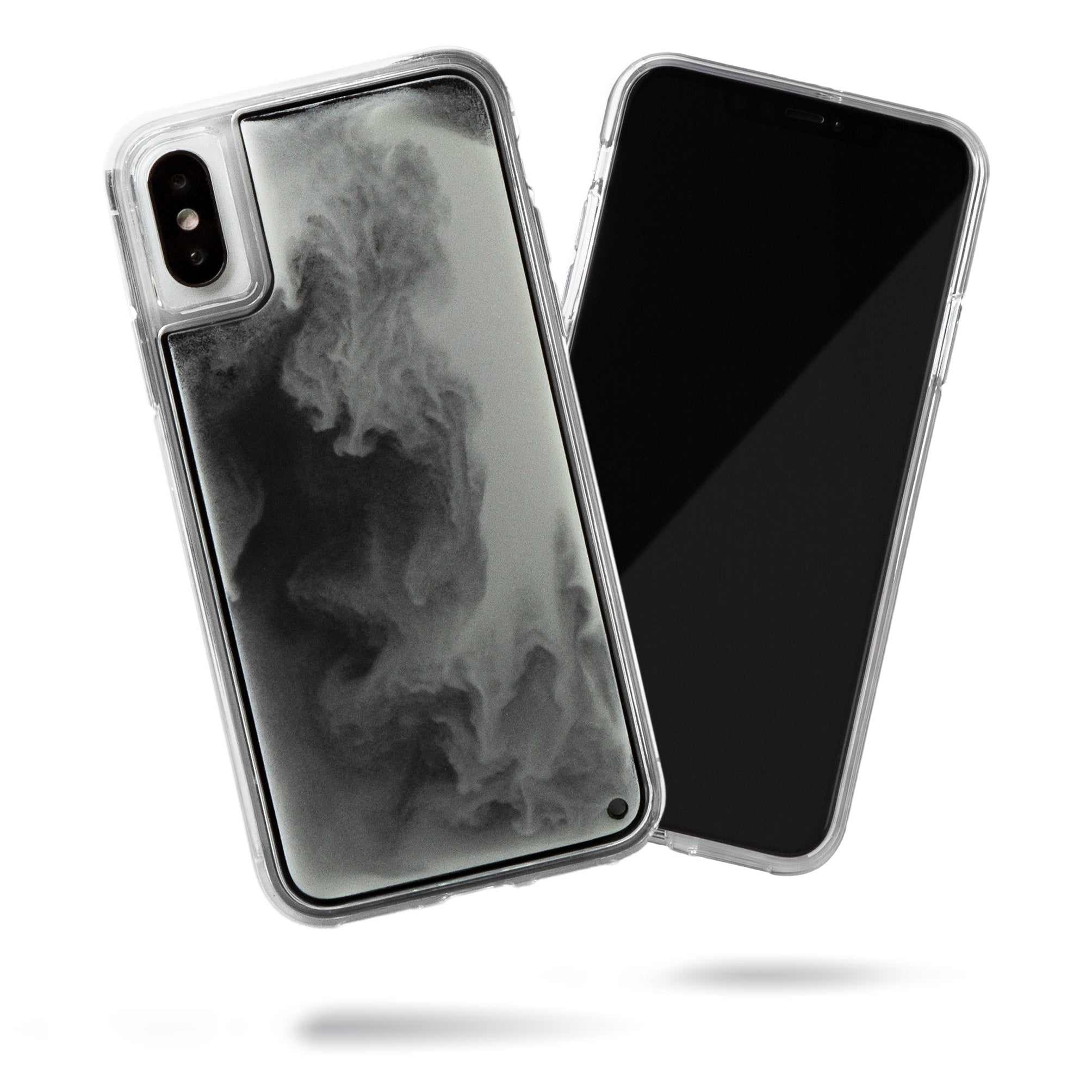 Neon Sand iPhone Xs/X Case - Hi Contrast Black n White