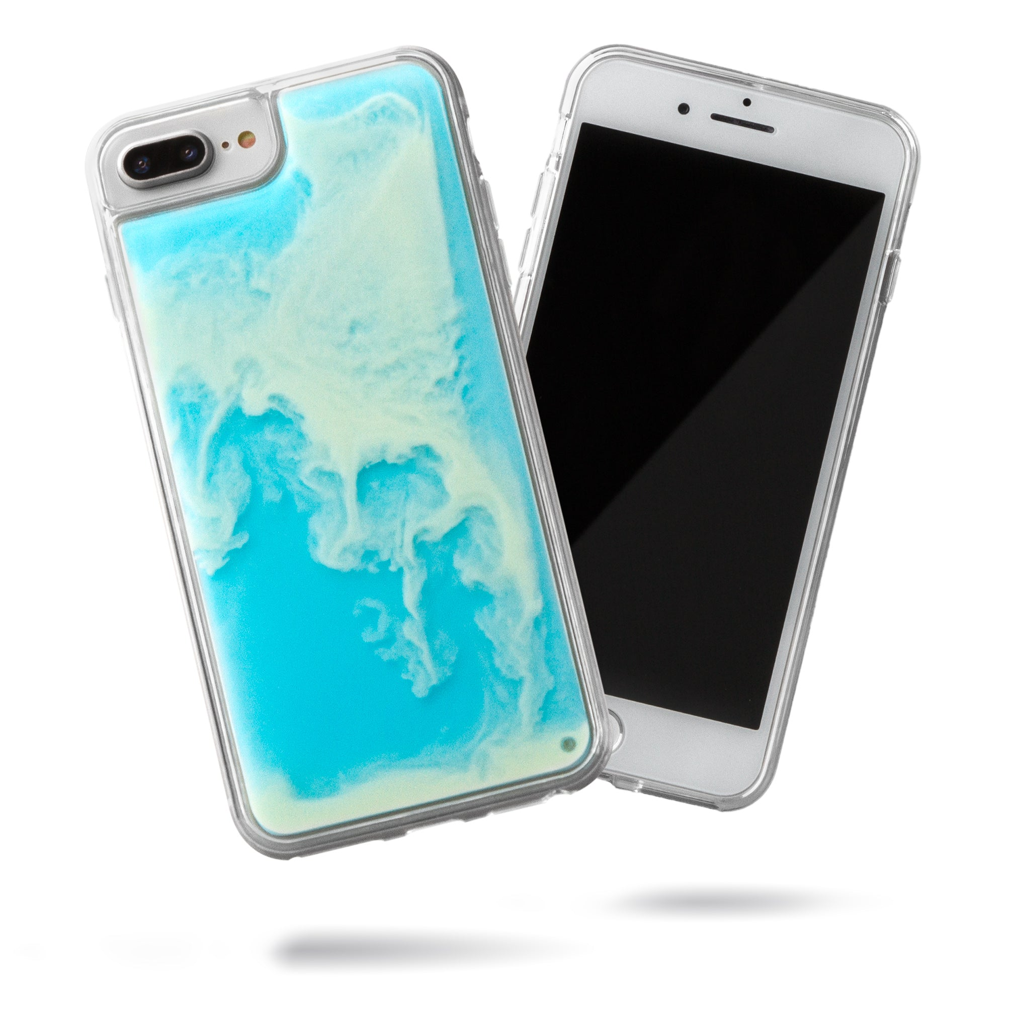 Neon Sand iPhone 8+/7+ Case - Ocean and Beach