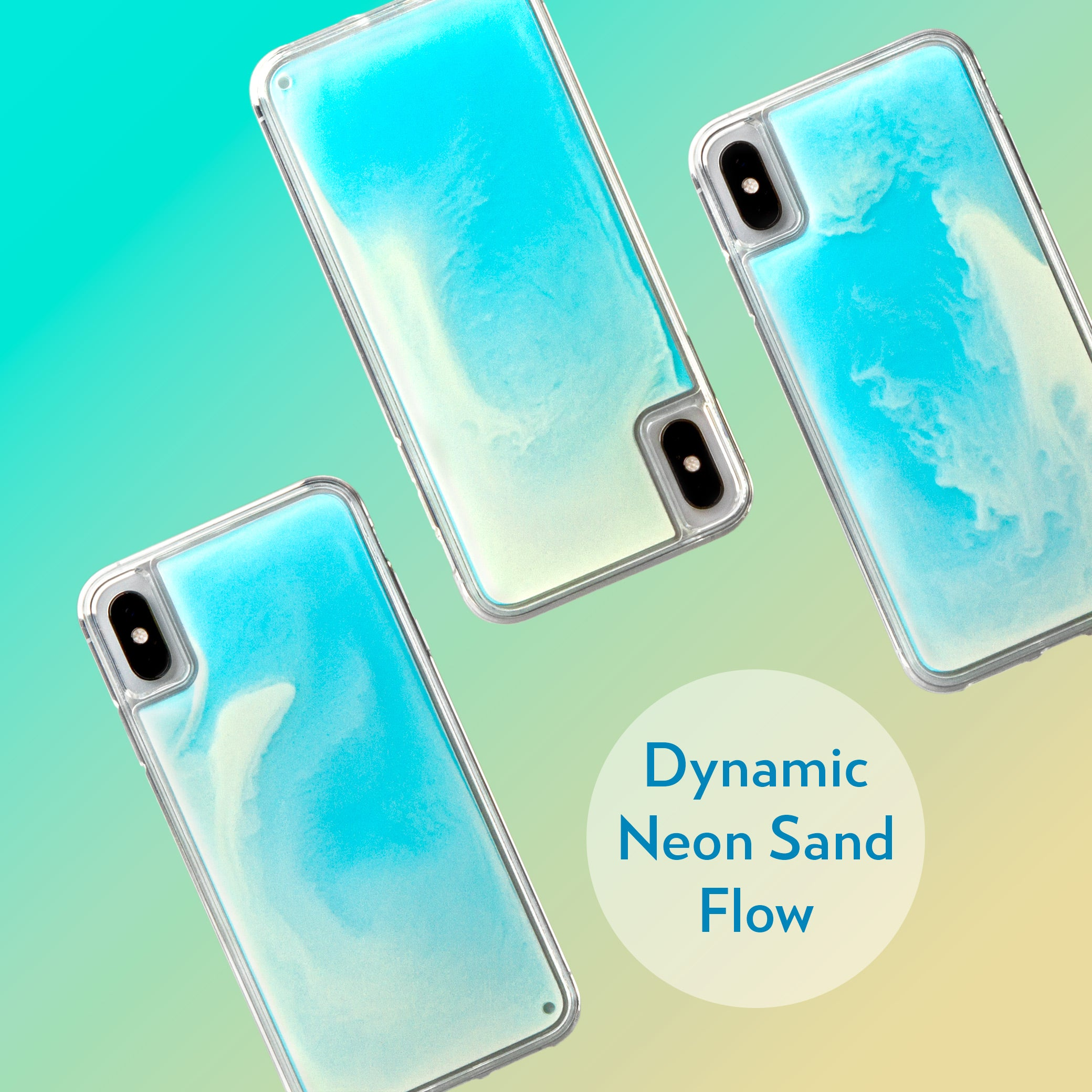 Neon Sand iPhone Xs/X Case - Ocean and Beach