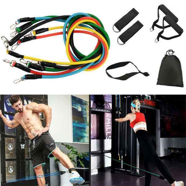 11 Pieces Resistance Band Set