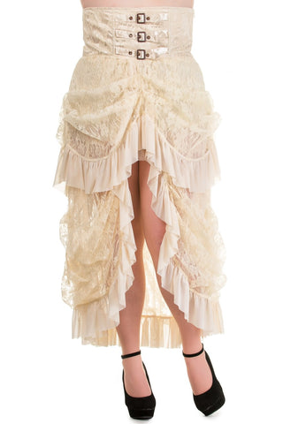 Lace Bustle Skirt in Plus Size