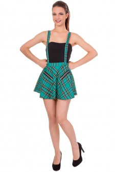 Suspender Skirt with Zippers