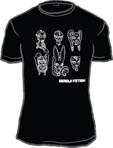 Deadly Fetish Group T-Shirt