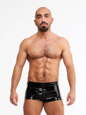 PVC Mini Zip Short