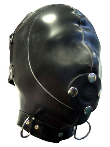 Heavy Gauge Latex Extreme Hood w/ Gag